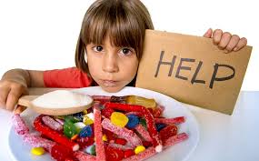 Kid asking if sugar is bad for you?