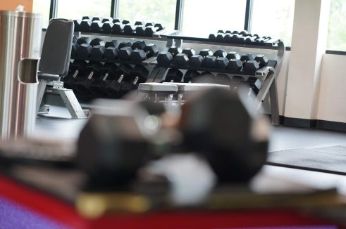 Use dumbbells to get back into ketosis faster