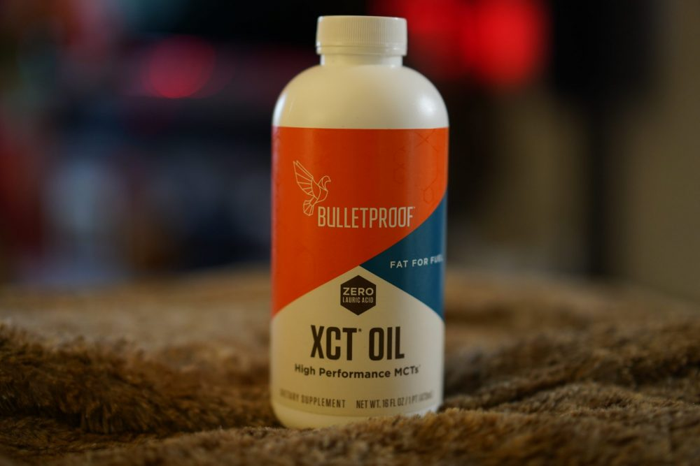 MCT oil helps you get keto adapted