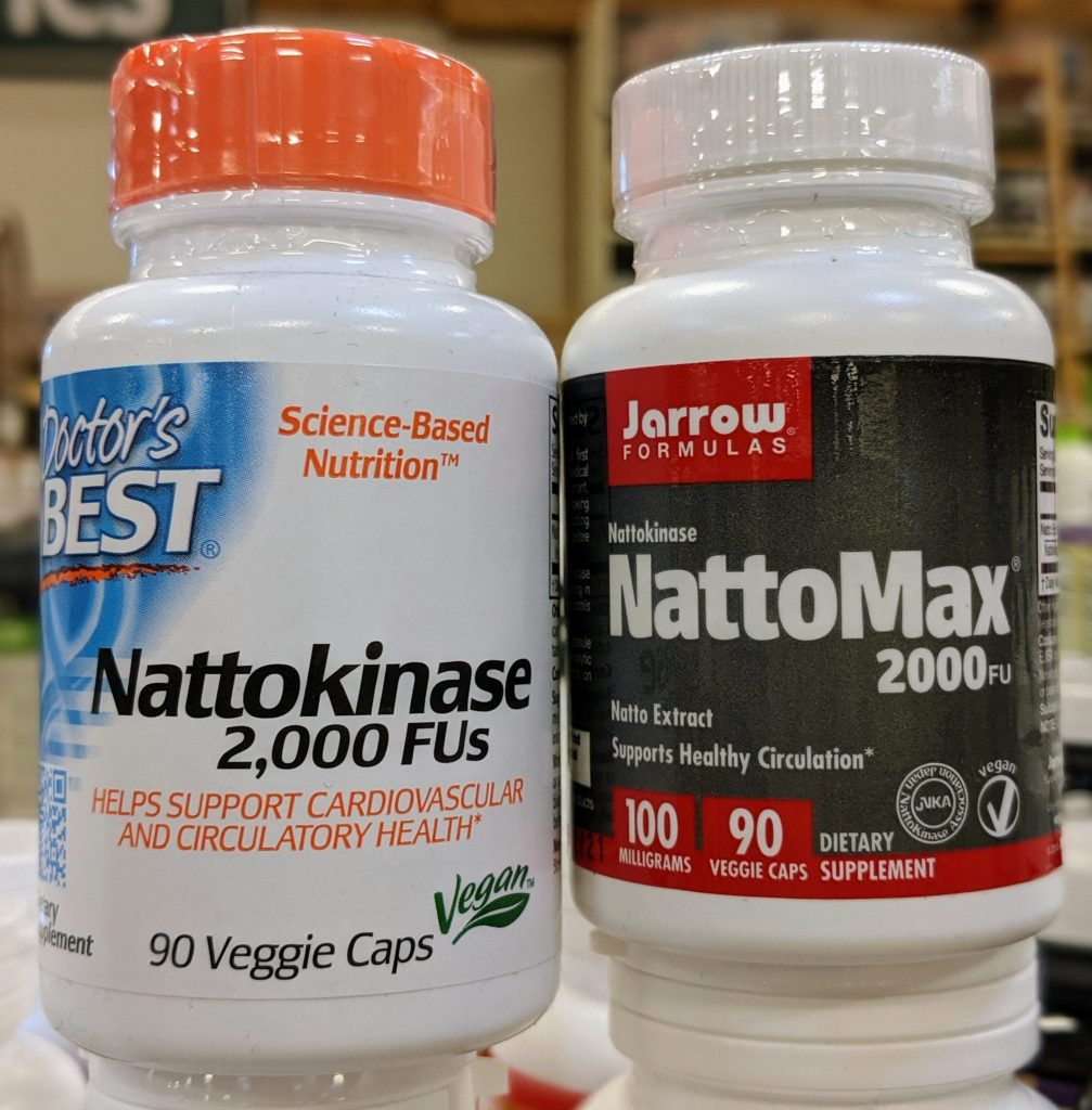 Nattokinase is a health benefit of Natto