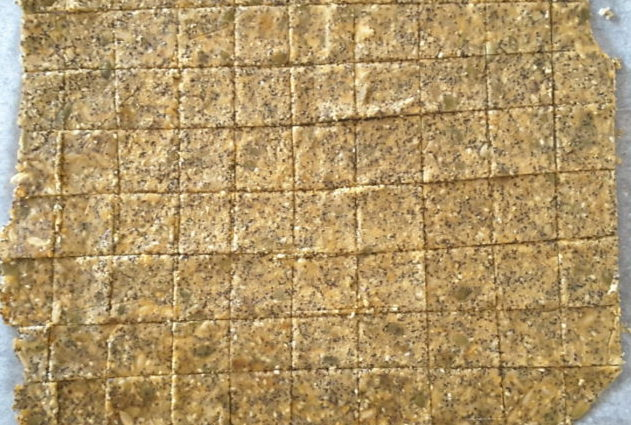Low Carb Almond Seed Crackers