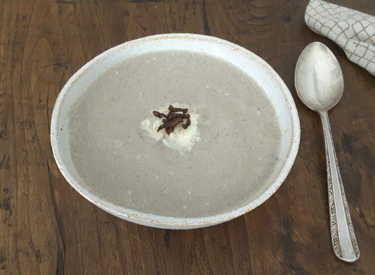 Low Carb Creamy Mushroom Soup