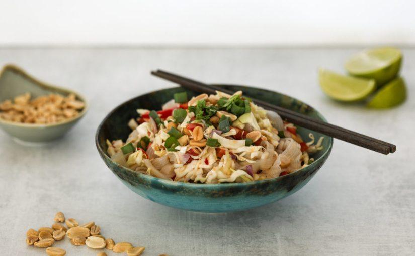 Asian Slaw with Konjac Noodles