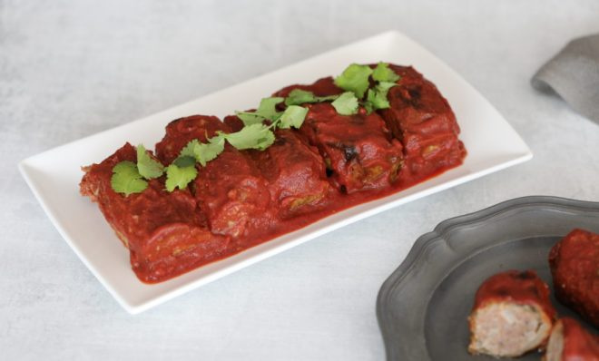 Healthy and delicious Low Carb Cabbage Rolls