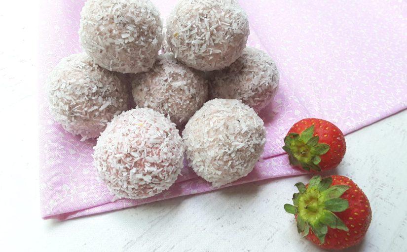 Sugar Free Strawberry Cheesecake Balls