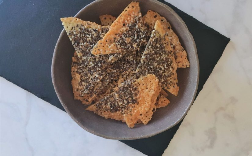 Chia Hemp Seed Cheese Crisps