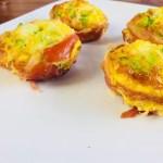 ontbijtmuffins met prosciutto