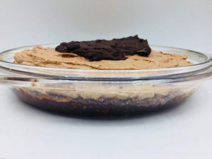 Keto chocolade cheesecake