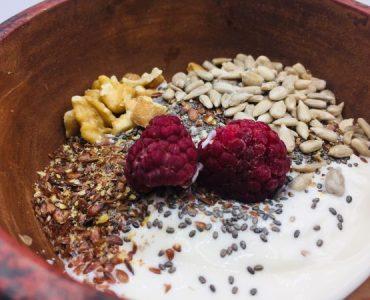 yoghurt met zadenmix