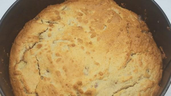 rabarber pecannoten taart