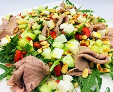 roast beef salade