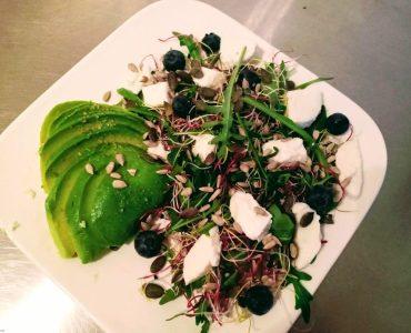 salade feta avocado