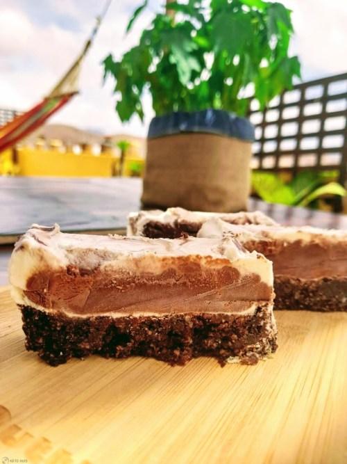 Chocolade ijstaart