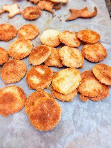 Gezouten aperitief crackers 2