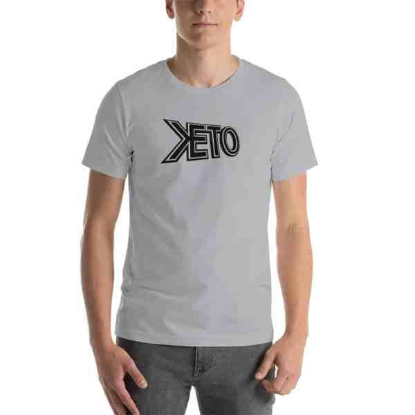 Keto Title Logo Short-Sleeve T-Shirt 1
