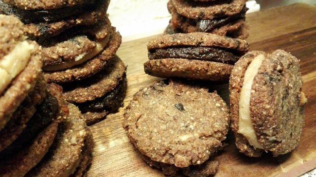 Γέμιση στα choc-chip μπισκότα με φουντούκι!