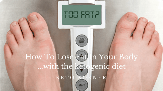 How To Lose Fat In Your Body