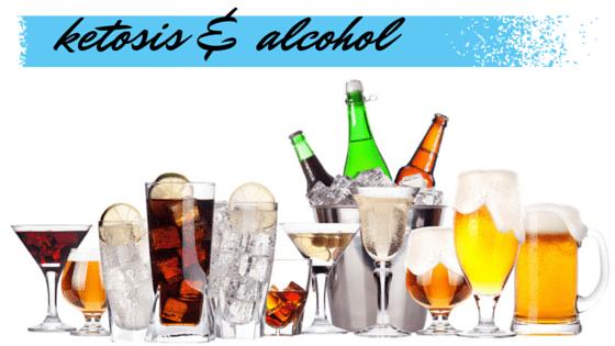 ketosis & alcohol