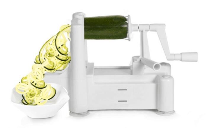 Paderno Vegetable Spiralizer or Zoodle Maker