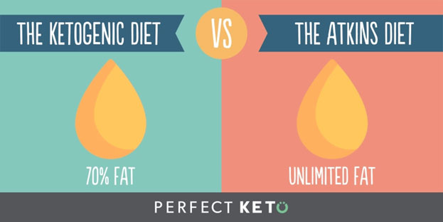 ketogenic diet vs atkins diet, atkins vs keto, keto diet, Atkins diet, ketogenic diet