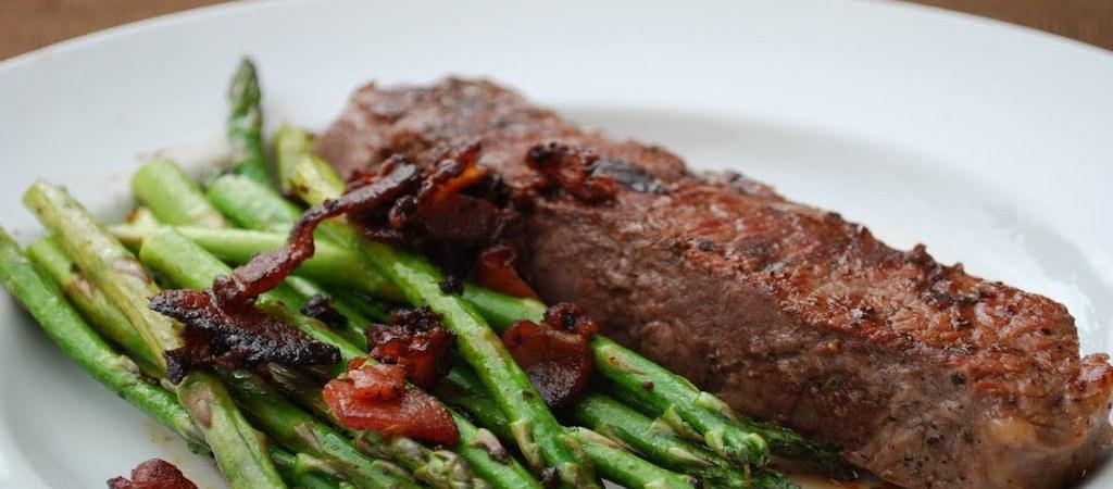 KetoSister.com - Steak and Veggies