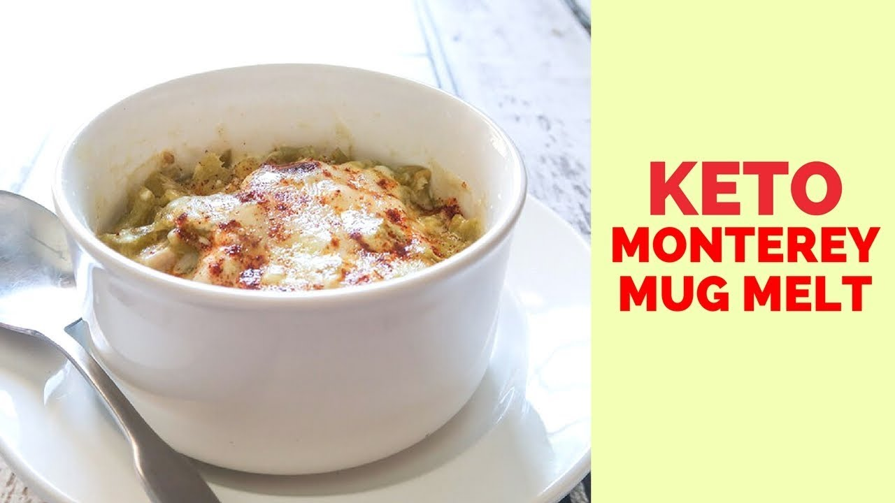 Keto Diet Recipes: Monterey Mug Melt