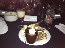 These are only just the desserts I ate at the Christmas party 2011...