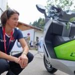 BMW Produktmanagerin Dorit Mangold erklärt die C Evolution