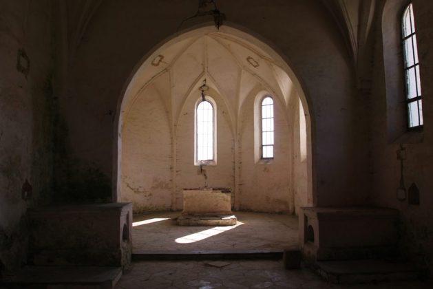 Kirche Thomasbach von innen