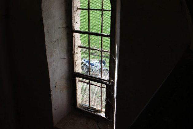 VFR gesehen durchs Kirchenfenster