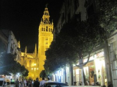 Sevilla's cathedral.