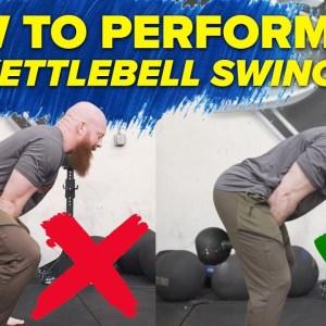 How to do KETTLEBELL SWING (Use Your Hips!) Ft. Cory Schlesinger