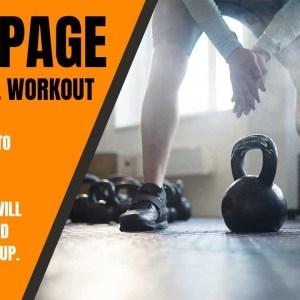 Kettlebell Workout RAMPAGE