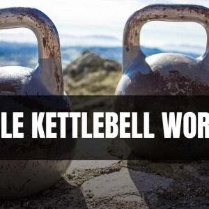 Simple Kettlebell Workout | ONE KETTLEBELL | 10 min. Kettlebell
