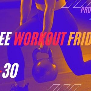 30-Min Kettlebell Strengthen and Sweat Full-Body Class