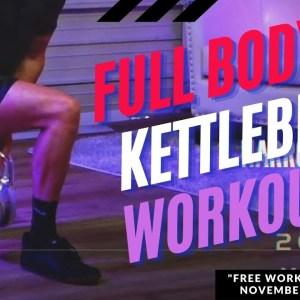 30-Minute Full Body Kettlebell Workout