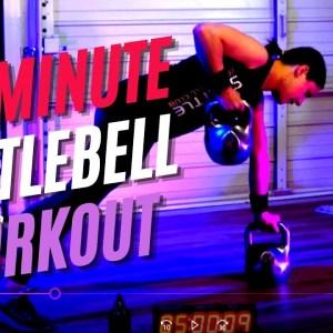 40-Minute Kettlebell Core Crusher Follow-Along Workout