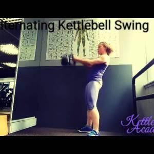 Alternating Kettlebell Swing