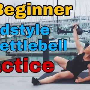 Beginner Kettlebell Workout - 15 min