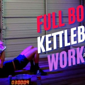 Full Body Push and Pull Kettlebell Workout