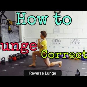 How to Lunge for Kettlebell Turkish Getup