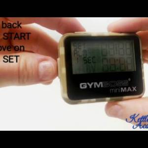 How to use Gymboss timer