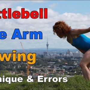 Kettlebell One Arm Swing | Technique & Mistakes