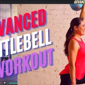 Pro Kettlebell Advanced Full Body, Follow Along Workout