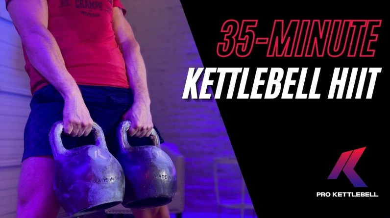 Soul Crusher Kettlebell HIIT Workout for Strength and Conditioning