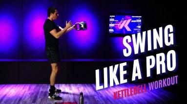 Swing Like A Pro - Full Kettlebell Workout