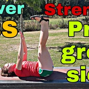 Ultimate Lower Abs Progression | Eliminate Lower Back Pain