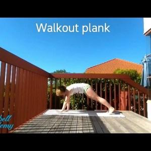 Walkout Plank - Universal Warm Up Exercises
