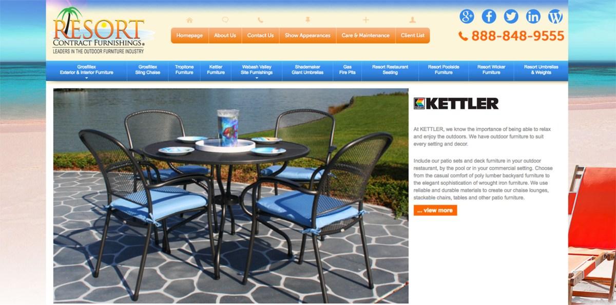 kettler patio furniture