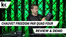 Chauvet Freedom Par Quad 4 | Review & Demo